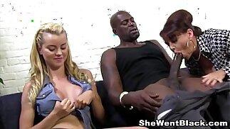 Mom and Daughter fuck huge long hard cock black dude