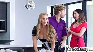 Nicole Aniston Hot Office slut Girl With Big Tits Love Hardcore 20