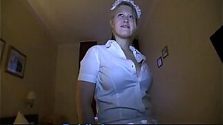 PublicAgent Anna Kournikova look like fucked in maids outfit