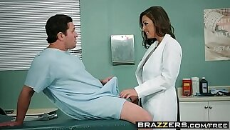 Doctor Adventures Ride It Out scene starring Abigail Mac and Preston Parker