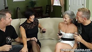 BACKSIDE Couples Swap Orgy Party