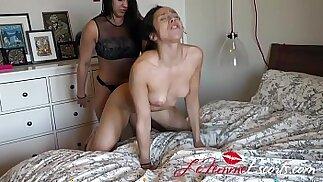 Lesbian Escort Maria and new client