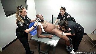 Suspect gets interrogated