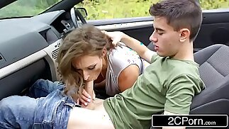 Cock Loving British MILF Ava Austen Is Taking A Road Trip In Search Of Big Dicks
