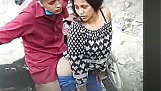 na rua Vídeo sobre sexo