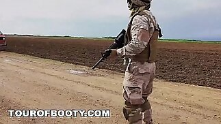TOUR OF BOOTY American Soldiers In The Middle East Negotiate Sex Using Goat As Payment