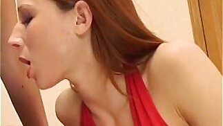 Two horny sluts get fucked in a threesome GB
