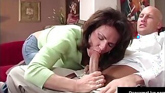 Naughty Wife Gets Free Advice For Sex From Tax Man!