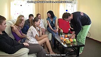 crazy group sex at a wild in college party