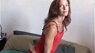 Sherry is a skinny babe loves sticky facial cumshots